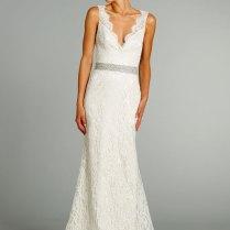 Simple A Line Wedding Dress