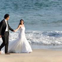 Simple Beach Wedding Dress For Summer Season