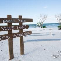 Simple Florida Beach Wedding