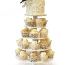 Wedding Cupcake Stands » Pink Cake Box Custom Cakes & More