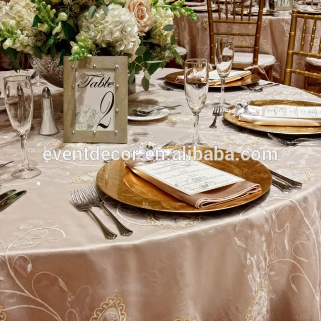 Wedding Glitter Gold Charger Plates Plastic