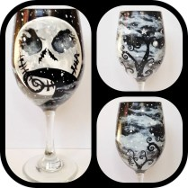 Wine Me Hand Painted Glassware, Wedding Favors & Gifts, Wedding