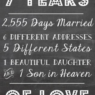 1000 Ideas About 7 Year Magnificent 7 Year Wedding Anniversary