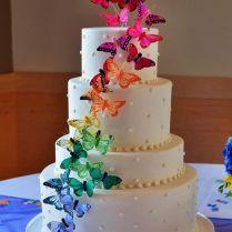 1000 Ideas About Butterfly Wedding Cake On Emasscraft Org