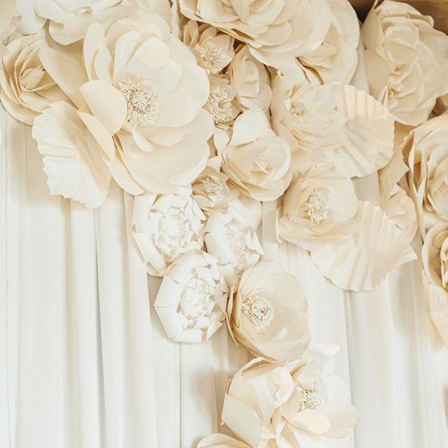 1000 Ideas About Paper Flowers Wedding On Emasscraft Org