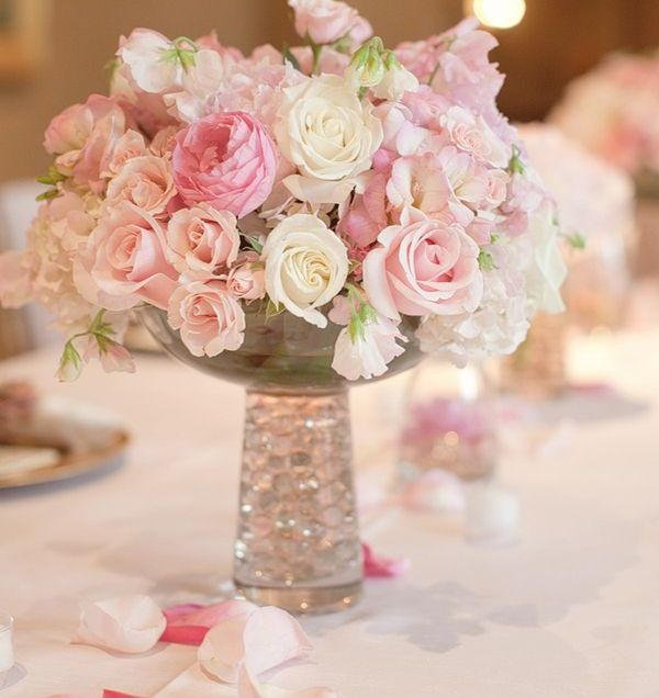 1000 Ideas About Pink Flower Centerpieces On Emasscraft Org