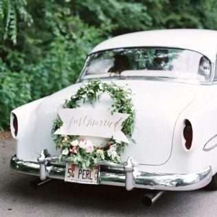 1000 Ideas About Wedding Car Decorations On Emasscraft Org