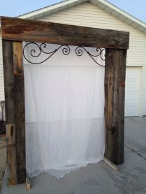 1000 Ideas About Wood Wedding Arches On Emasscraft Org