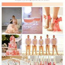 1000 Images About Coral And Beige Wedding Inspiration On