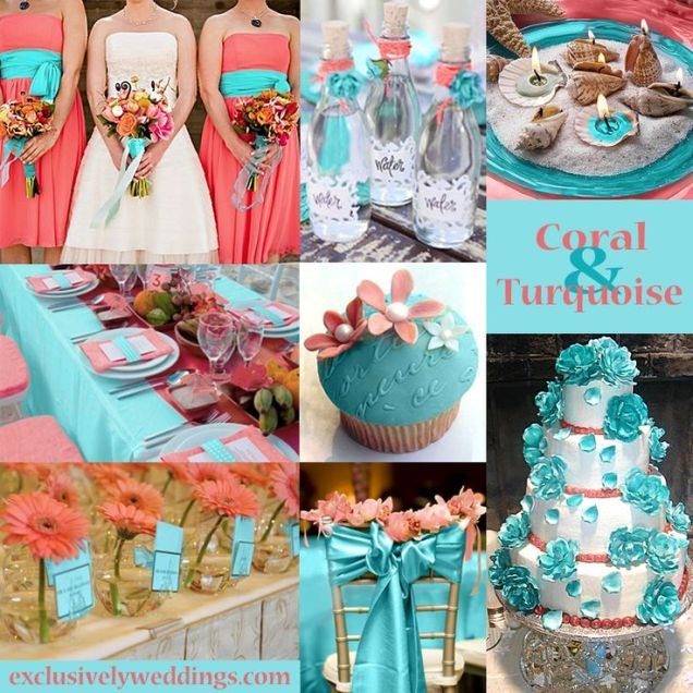 1000 Images About Coral And Teal Wedding Ideas On Emasscraft Org