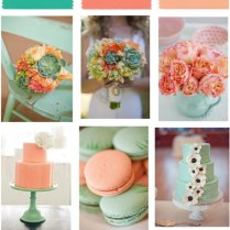 1000 Images About Mint And Peach Wedding Idea On Emasscraft Org