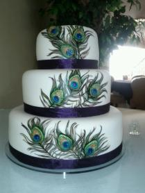 1000 Images About Peacock Wedding Cake On Emasscraft Org