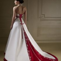 1000 Images About Red And White Wedding Dresses On Emasscraft Org
