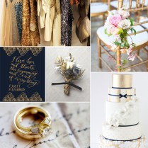 10 Hottest Gold Wedding Color Ideas