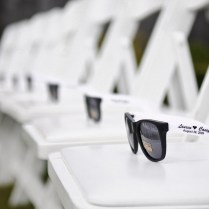 11 Amazing Wedding Photos With Custom Printed Sunglasses