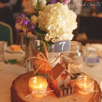 12 Country Wedding Wood Centerpieces – Unique & Cheap Spring Theme
