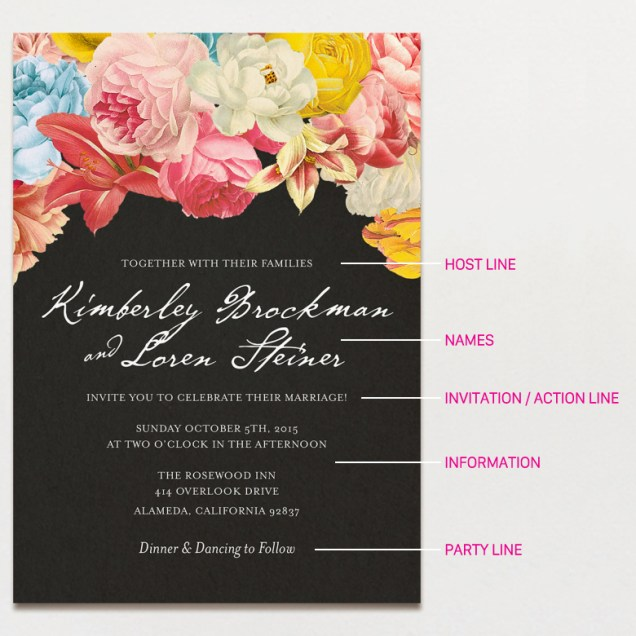 15 Wedding Invitation Wording Samples From Traditional To Fun