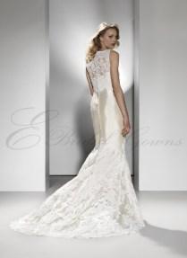 2017 Silk Dupion Strapless Sweetheart Column Wedding Dress