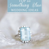 20 Breathtaking Something Blue Wedding Ideas