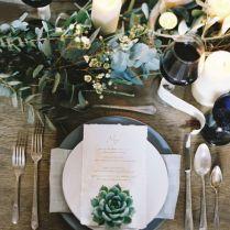 20 Impressive Wedding Table Setting Ideas