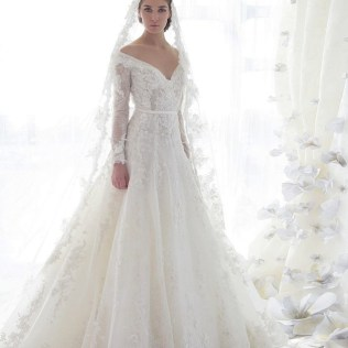30 Gorgeous Lace Sleeve Best Wedding Gowns Long Sleeve