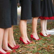 30 Red And Black Wedding Decor Ideas