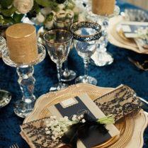 34 Elegant Navy And Gold Wedding Ideas