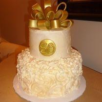 50 Wedding Anniversary Cake Ideas On Wedding Cakes With 50th