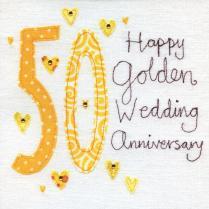 50th Wedding Anniversary (vintage Range)