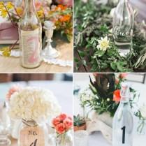 51 Creative Diy Wedding Table Number Ideas