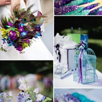 5 Different Shades Of Purple Wedding Colors