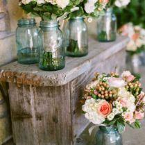 7 Easy Rustic Wedding Enchanting Country Wedding Decorations Ideas