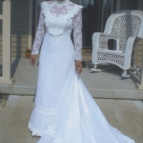 A Gorgeous Dress Made By Updating Her Mom's Wedding Dress!