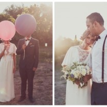 A Rustic French Wedding With A Flower Market Theme