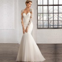 Aliexpress Com Buy 2016 Winter Wedding Dress Long Sleeve Sequins