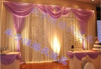 Background Decoration For Wedding
