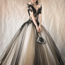 Beautiful Black Wedding Dresses