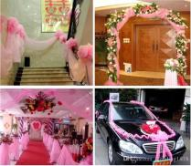 Best Selling Wedding Party Decorations Gauze Curtain Backgrounds
