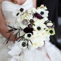 Black And White Flowers For Wedding On Wedding Flowers With Black
