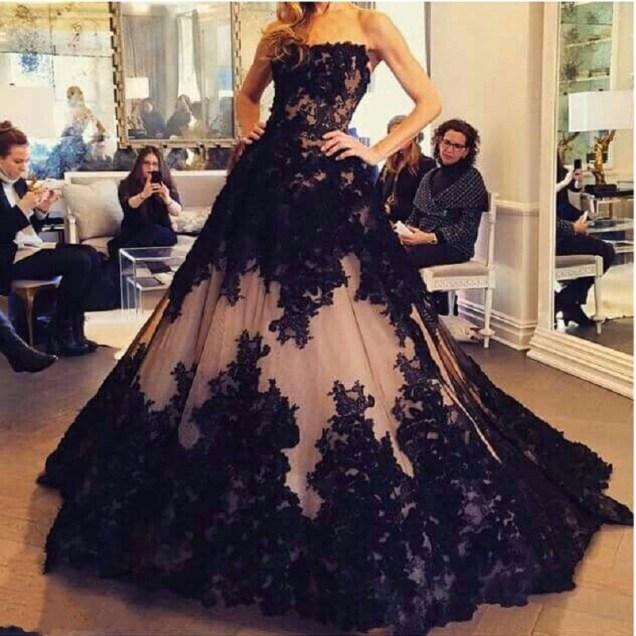 Black Wedding Gown Online Shopping