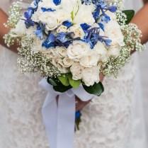 Blue And White Diy Wedding Flowers