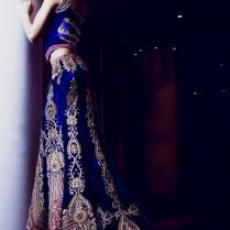 Blue Indian Wedding Dresses Naf Dresses