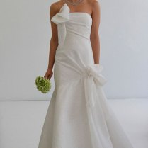 Bow Wedding Dress