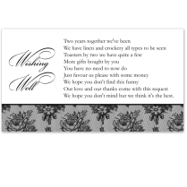 Budget Wedding Invitations Wishing Well Cards French Classic