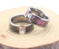 Camo Wedding Rings Unique Wedding Ring Inspiration — Wedding Ideas
