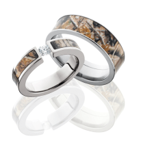 Camouflage Wedding Rings Sets