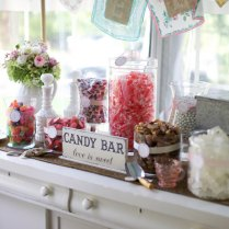 Candy Bar Sign Love Is Sweet Wedding Signs By Thebackporchshoppe