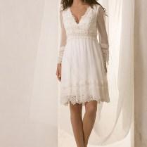 Casual Wedding Dresses Sleeves