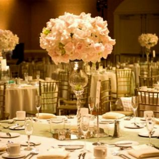 Cheap Table Decorations For Interesting Wedding Reception