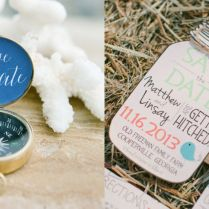 Chic Save The Dates Ideas
